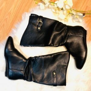 Merona Black Boots Size 7.5